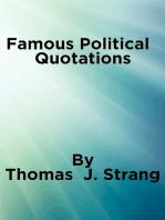 Famous Political Quotations