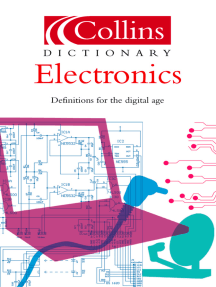 Electronics (Collins Dictionary of)