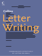 Collins Letter Writing