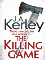 The Killing Game (Carson Ryder, Book 9)