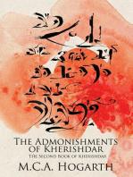 The Admonishments of Kherishdar (The Books of Kherishdar, #2)