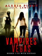 The Vampires of Vegas Books I-III With Extras