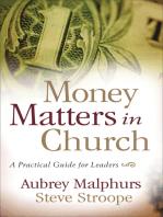 Money Matters in Church