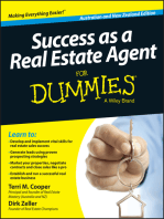 Success as a Real Estate Agent for Dummies - Australia / NZ
