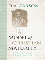 A Model of Christian Maturity