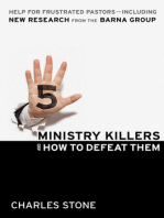 Five Ministry Killers and How to Defeat Them