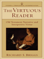 The Virtuous Reader (Studies in Theological Interpretation)