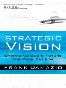 Strategic Vision: Embracing God's Future for Your Church