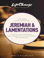 Jeremiah & Lamentations