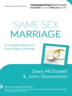 Same-Sex Marriage (Thoughtful Response)