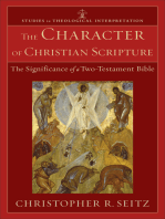 The Character of Christian Scripture (Studies in Theological Interpretation)