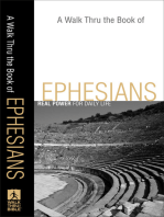 A Walk Thru the Book of Ephesians (Walk Thru the Bible Discussion Guides)