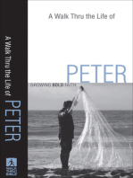 A Walk Thru the Life of Peter (Walk Thru the Bible Discussion Guides)