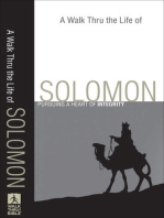A Walk Thru the Life of Solomon (Walk Thru the Bible Discussion Guides)