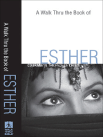 A Walk Thru the Book of Esther (Walk Thru the Bible Discussion Guides)