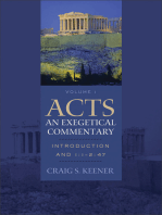 Acts: An Exegetical Commentary : Volume 1: Introduction and 1:1-247