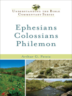 Ephesians, Colossians, Philemon (Understanding the Bible Commentary Series)