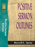 Positive Sermon Outlines (Sermon Outline Series)