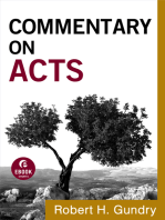 Commentary on Acts (Commentary on the New Testament Book #5)
