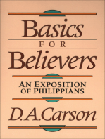 Basics for Believers