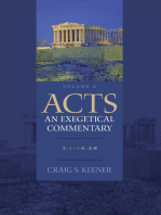 Acts: An Exegetical Commentary : Volume 2: 3:1-14:28