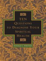 Ten Questions to Diagnose Your Spiritual Health