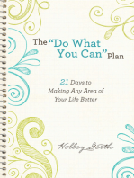 "The ""Do What You Can"" Plan (Ebook Shorts)"