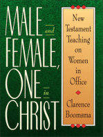 Male and Female, One in Christ