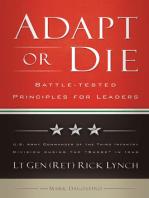 Adapt or Die: Leadership Principles from an American General