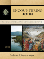 Encountering John (Encountering Biblical Studies)