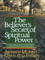 The Believer's Secret of Spiritual Power (Andrew Murray Devotional Library)