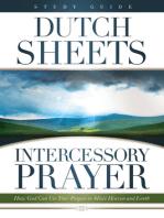 Intercessory Prayer Study Guide