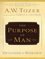 The Purpose of Man
