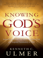 Knowing God's Voice
