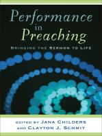 Performance in Preaching (Engaging Worship)