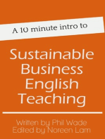 A 10 minute intro to Sustainable Business English Teaching