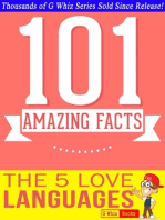 The 5 Love Languages - 101 Amazing Facts You Didn't Know (GWhizBooks.com)
