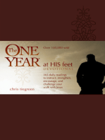 The One Year At His Feet Devotional