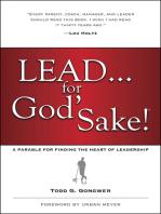 Lead . . . for God's Sake!