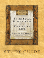 Spiritual Disciplines for the Christian Life Study Guide
