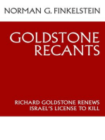 Goldstone Recants
