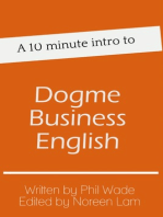 A 10 minute intro to Dogme Business English