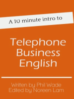 A 10 minute intro to Telephone Business English