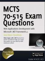 MCTS 70-515 Exam: Web Applications Development with Microsoft .NET Framework 4 (Exam Prep)