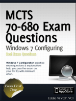 MCTS 70-680 Exam Questions