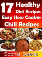 17 Healthy Diet Recipes Easy Slow Cooker Chili Recipes