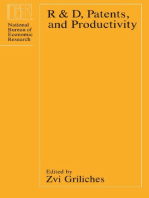 R&D, Patents and Productivity