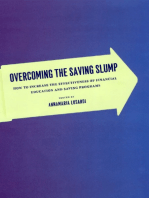 Overcoming the Saving Slump