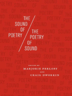 The Sound of Poetry / The Poetry of Sound