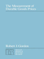 The Measurement of Durable Goods Prices